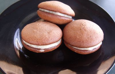 Whoopies cacao banane