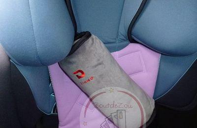 J'ai testé pour vous le Seat Belt Pillow de Diono pour groupe 2/3
