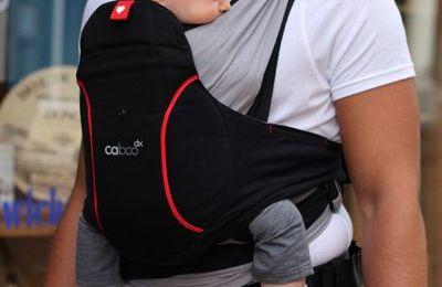 Le nouveau porté bébé physiologique (?) de Close, le Caboo Dx