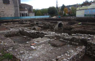 Aurillac : découverte exceptionnelle d'un monastère vieux de dix siècles