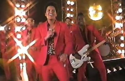 "Bruno Mars ""Treasure"" music, ""y aurait-il plagia?""+Super Bowl 2014"