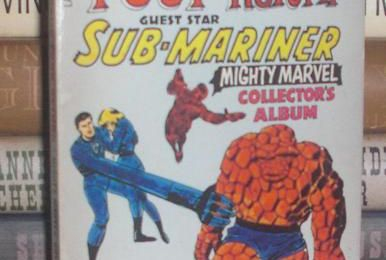 The Fantastic Four Return Guest Star Sub-Mariner a Mighty Marvel Collector's Album