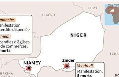 Niger: 10 morts dans les émeutes contre Charlie Hebdo; l'opposition se mobilise.