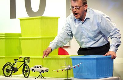 TED talk: Hans Rosling on Global Population Growth.