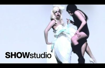 Nick Night & Lady GaGa - Puke on GaGa (2010 - SHOWstudio)