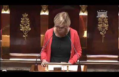 Emplois d'avenir : Françoise Dumas intervient à l'Assemblée Nationale