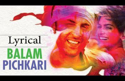 Balam Pichkari, chanson du film 'Yeh Jawaani Hai Deewani'. Ranbir Kapoor & Deepika Padukone en mode holi party ;D