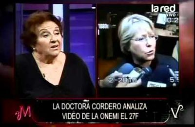 Chile: Dra. Cordero analiza video de la onemi del 27F