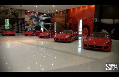Une fascinante collection de supercars !