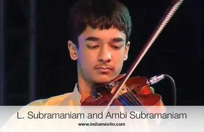 L. Subramaniam and Ambi Subramaniam : danse staccato des archets