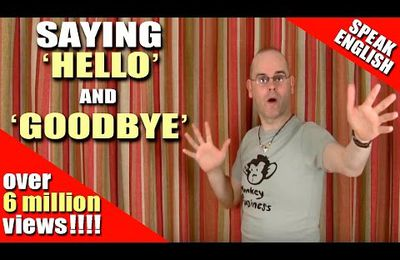 learning english lesson two (hello/goodbye)