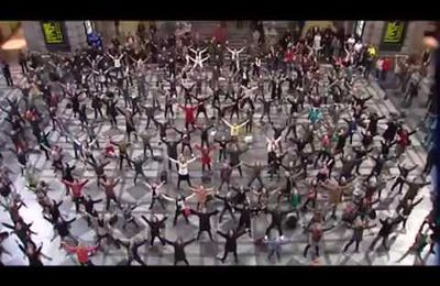 Les flash mob : j'adore !
