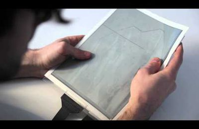 Paper Tab : la tablette flexible qui va ringardiser les tablettes