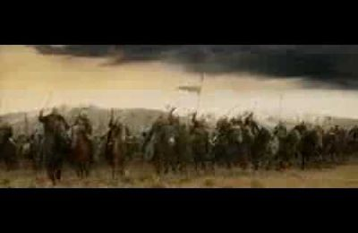 The charge of the ROHIRRIM
