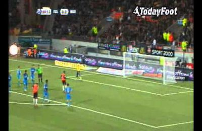 34EME JOURNEE LIGUE1 2011/2012 : LORIENT 2/1 OM BUTS & RESUME VIDEO