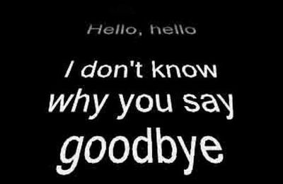 """6ème : """"Hello, Goodbye"""", by The Beatles"""