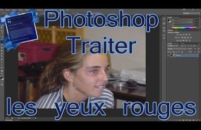 Retirer les yeux rouges des photos via Photoshop
