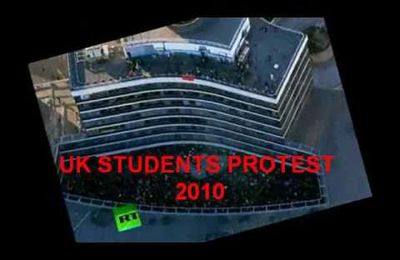 UK : révolution dub student protest