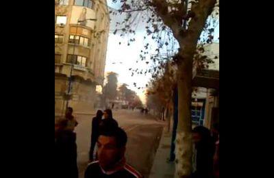 Bizerte Tunisie 12 janvier 2011