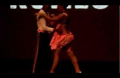 Morenasso & Anaïs Millon. Show Festival Salsa Del Mar 2012