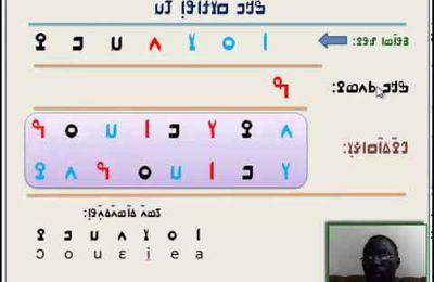 Apprendre à lire le malinké / bambara en alphabet N'KO sur You Tube