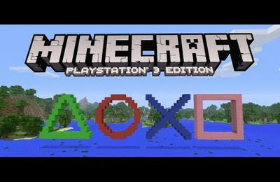 Minecraft playstation 3 édition (First-View)