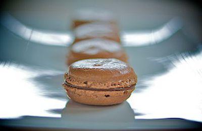 CUISINE \ Recette de cuisine : Macarons au chocolat avec Christophe Morel