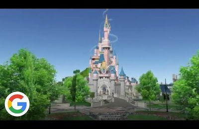 Disney Land en 3D et en Street View