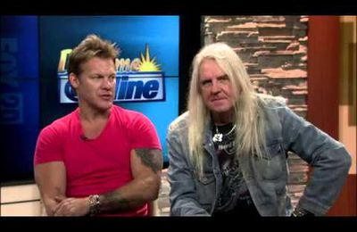 FOZZY + SAXON on FOX TV San Antonio - Sep 27 2013
