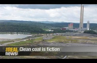 Clean coal is fictional (TheRealNews, 10')