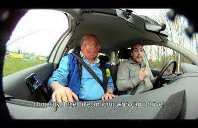 Virage a 180° Belge : Apprendre à conduire en textotant…