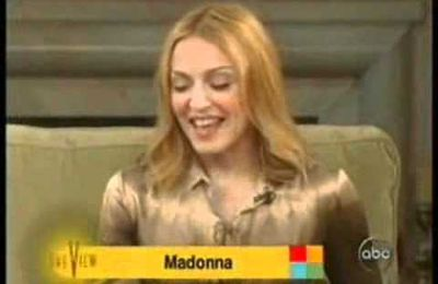 Madonna on The View 2005 Interview