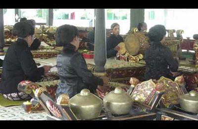 Gamelan à Yogyakarta