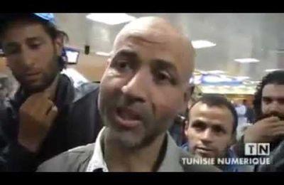 عودة السلفي الجهادي طارق معروفي من السجن ببلجيكا إلى تونس