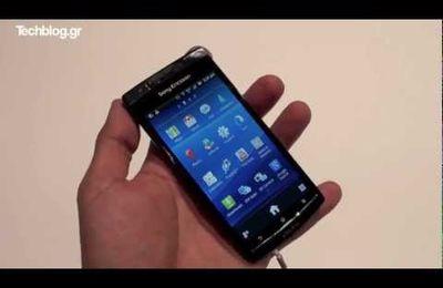 IFA 11 : Vidéo de prise en main du Xperia Arc S