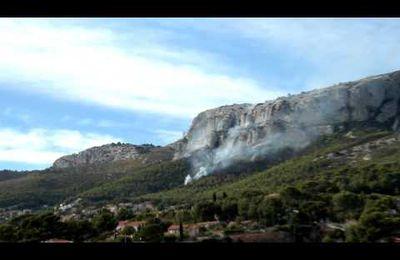 Incendie au Baou des 4 Ouros (09/10/2011)