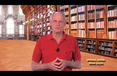 MORALE LAÏQUE en 9 leçons. 6ème lmeçon : MORALE ET COHÉSION SOCIALE (4mn)