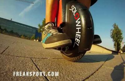 solowheel - self-balanced unicycle