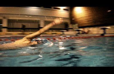 Entraînement natation.
