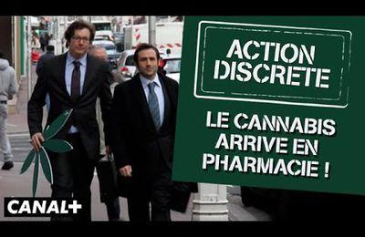 [Vidéo] Action Discrète de retour sur Youtube - Le cannabis arrive en pharmacie !