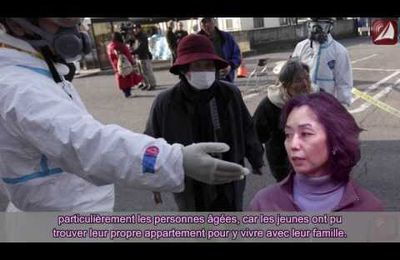 La situation d'abandon des réfugiés de Fukushima