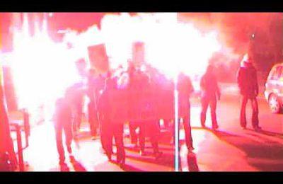 Manif de solidarité avec les antifascistes russes