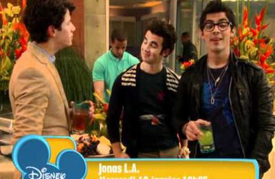 JONAS LA, Demain sur Disney Channel France!