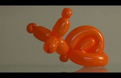 comment créer un escargot en sculptant un ballon