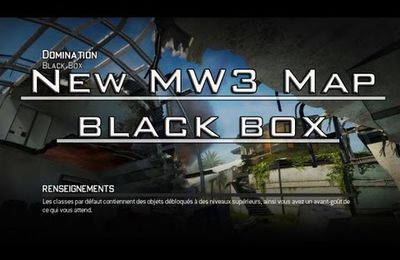 Dlc Mw3 Black Box, la prochaine carte!
