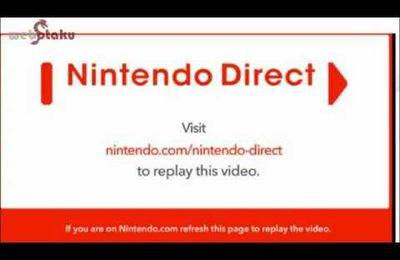 Le weekend place aux vidéos : Nintendo direct USA avec Mandark et Florent Gorges