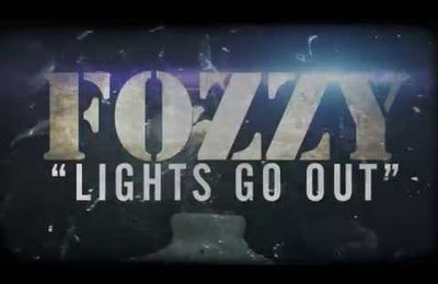 "FOZZY releases new single ""Lights Go Out"""