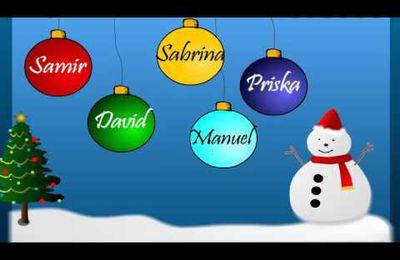 Un joyeux Noel a tous les enfants du monde
