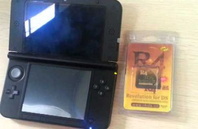 R4i Gold 3DS supports 3DS(XL,LL) V4.5.0-10