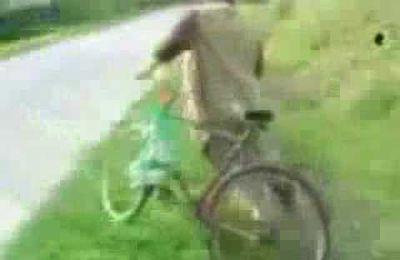 Les cyclistes et l'alcoolisme...